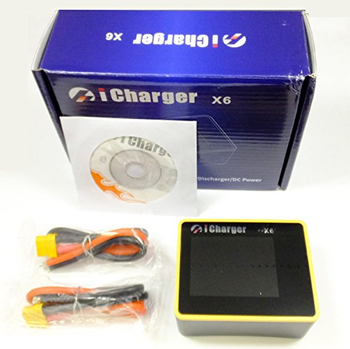 MALTA★iCharger X6 小型超高性能チャージャー 1~6CELL 30A/800W