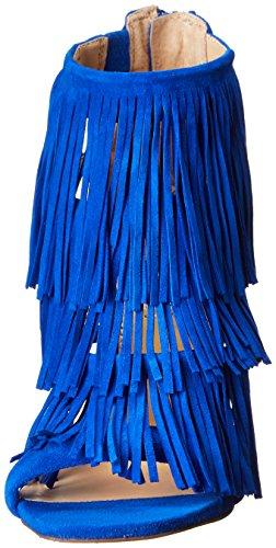 Steve Madden Damen Fringly Sandalen Blau