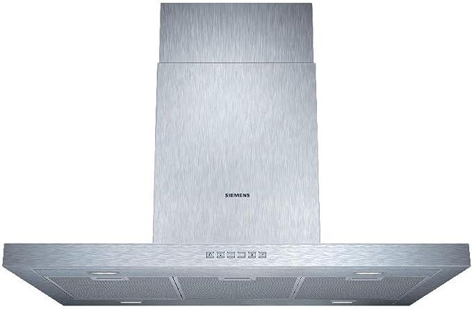 Siemens LF97BB532 - Campana (Canalizado/Recirculación, 730 m³/h, 410 m³/h, Montado en pared, LED, 888 Lux) Acero inoxidable: 543.04: Amazon.es: Grandes electrodomésticos