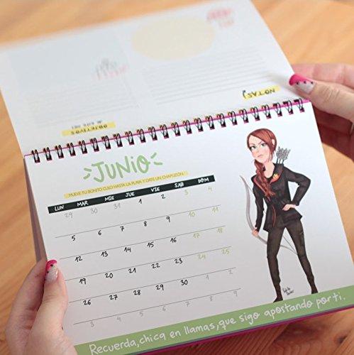 Pedrita Parker Pelea como una chica - Calendario de mesa 2017, 21 x 15 cm