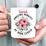 The Gift Experience Personalised Amazing Midwife At Your Cervix Mug
