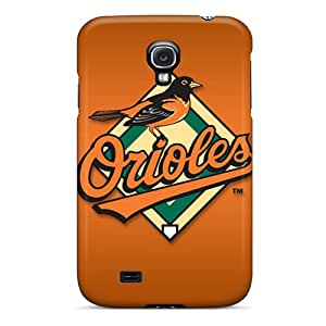 Best Hard Cell-phone Case For Galaxy S4 With Unique Design Realistic Baltimore Orioles Image TanyaCulver