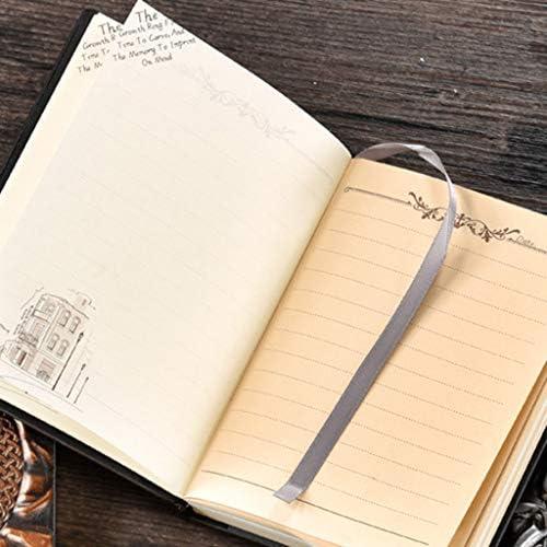 ruiruiNIE Indisches Mädchen Geprägt A6 Leder Notizbuch Journal Notizblock Reisetagebuch Planer