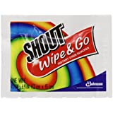 Shout Wipe & Go Wipes, 12 Count (Pack Of 3)