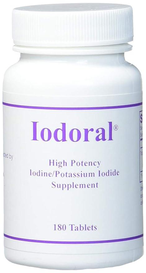 Iodoral 12,5 mg, 180 pastillas