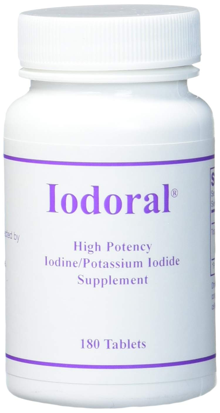 OPTIMOX Iodoral IOD 12.5 High Potency Iodine Potassium Iodide Thyroid Support Supplement