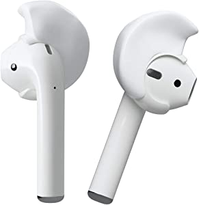 Decibullz - Custom Molded Ear Hooks for Airpods by Decibullz, Covers Compatible with Apple Airpods