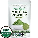 Biofinest Matcha Green Tea Powder -100% Premium Ceremonial Grade -USDA Organic Raw Vegan Non-GMO 4oz