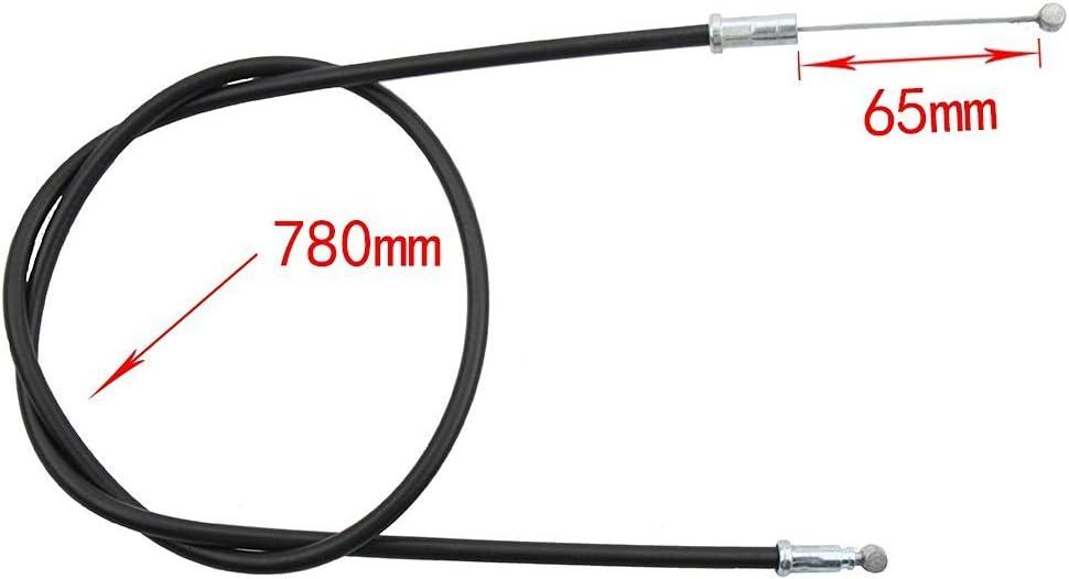 Kabel bewegende Lange 65mm GOOFIT 30.7 Chokezug f/ür 50cc 70cc 90cc 110cc 125cc ATV