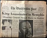 img - for The Washington Post (newspaper), Friday, April 5, 1968 (Final Edition) (Martin Luther King, Jr., Assassination),