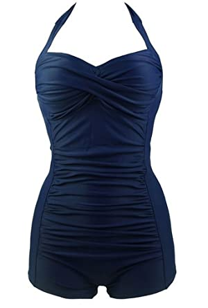 36bb4cb51608c Socluer Femme Maillot de Bain Élégant Amincissant Monokini Push Up 1 Pièce  Shorty Chic: Amazon.fr: Vêtements et accessoires