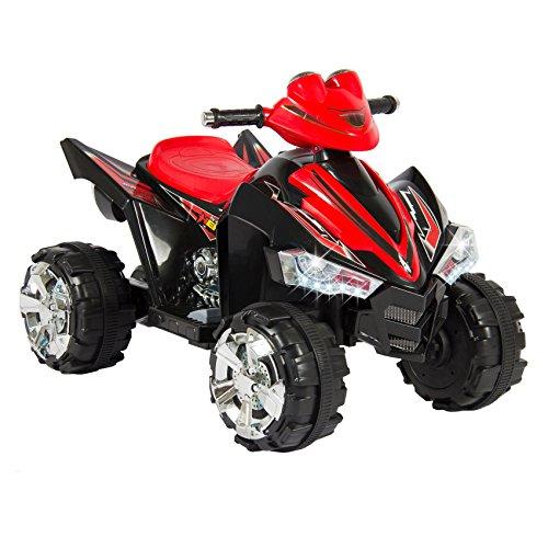 New Kids Ride On ATV Quad 4 Wheeler 12V Battery Power Electric Led Lights & Music