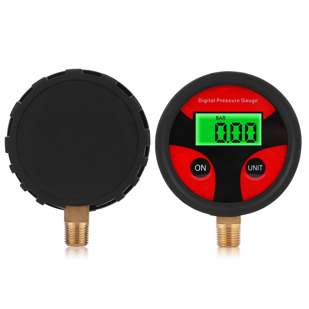 0-200PSI LCD Digital Tire Pressure Gauge, Keenso Tyre Tire Air Pressure Gauge Meter for Car Truck Motorcycle