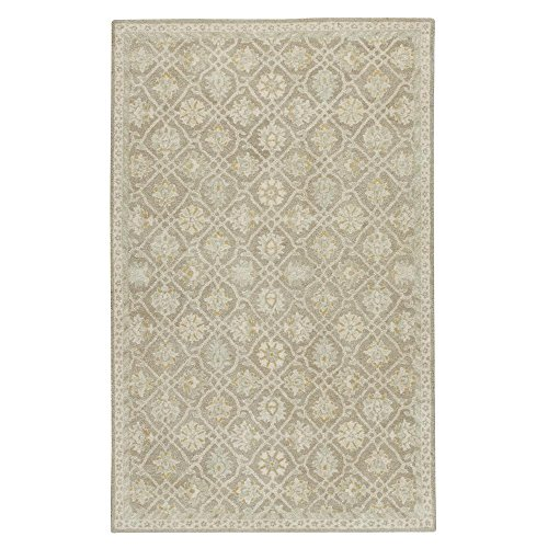 Home Decorators Collection Essence Grey 2 ft. x 3 ft. Area Rug