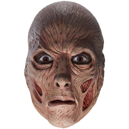 A Nightmare On Elm Street Freddy Krueger Costume with Mask, Red, One Size ()
