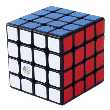Yuxin Zhisheng Unicore King 4x4x4 Speed Cube Puzzle Black