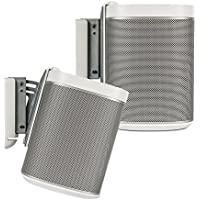 Flexson Wall Bracket for PLAY:1 SONOS Speakers - WHITE - PAIR