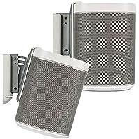 Flexson Wall Bracket for PLAY:1 SONOS Speakers - WHITE - PAIR