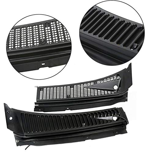 For Ford 99-07 F250 F350 Windshield Wiper Vent Cowl Screen Cover Grille Panel ()