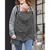 Lopkey Waterproof Baby Backpack Carrier Cover Infant Rainproof Outdoor Cloak for Baby Sling Baby Carrier