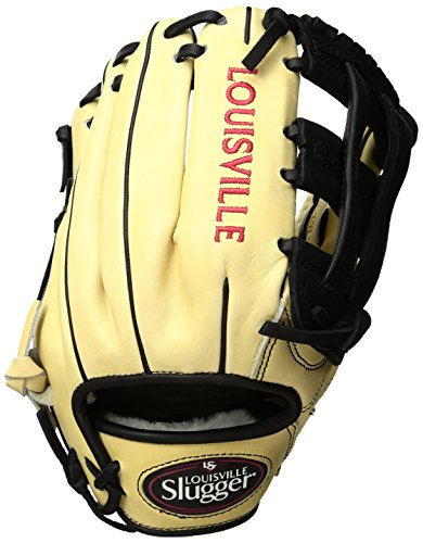 Louisville Slugger Pro Flare Gloves, Cream, 11.5