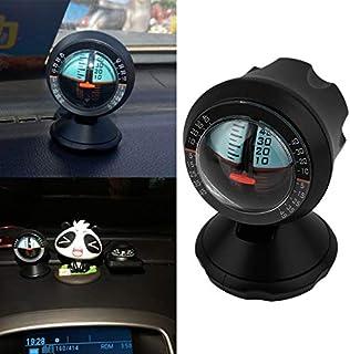 Prinfong Portable Angle Slope Level Meter Finder Balancer Car Vehicle Inclinometer Angel Level Finder Tool for Car Travellers