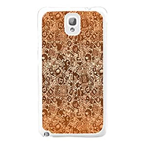 Vintage Abstract Art Print Plastic Hard Case Cover Shell for Samsung Galaxy Note 3