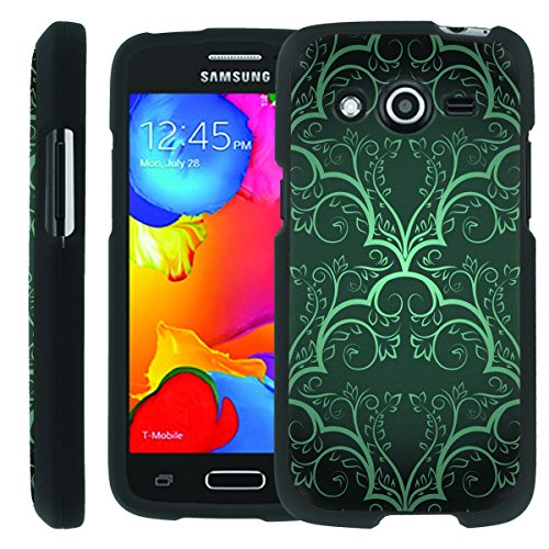 [ManiaGear] Design Graphic Image Shell Cover Hard Case (Flow Vintage) for Samsung Galaxy Avant G386