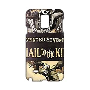 Angl 3D Case Cover Avenged Sevenfold - Hail To The King Phone Case for Samsung Galaxy Note4