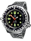 Tauchmeister mens Diver watch ''AUTOMATIC'' sapphire glass 24h T0309M