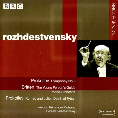 Prokofiev: Symphony No.5 / Britten: Young Person's Guide to the Orchestra by BBC Legends