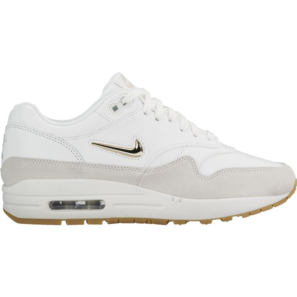 40f85295e97c2 NIKE Womens - Air Max 1 Jewel  Rare  - White Gold - UK 9  Amazon.co.uk   Shoes   Bags