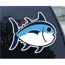 "Southern Tide Fish Vinyl Sticker Decal 4""X4"""
