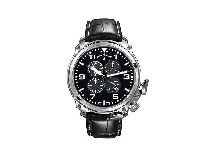 Junghans Erhard J. Aerious Cronoscopio Reloj automático, cocodrilo, 028/4901.00: Amazon.es: Relojes