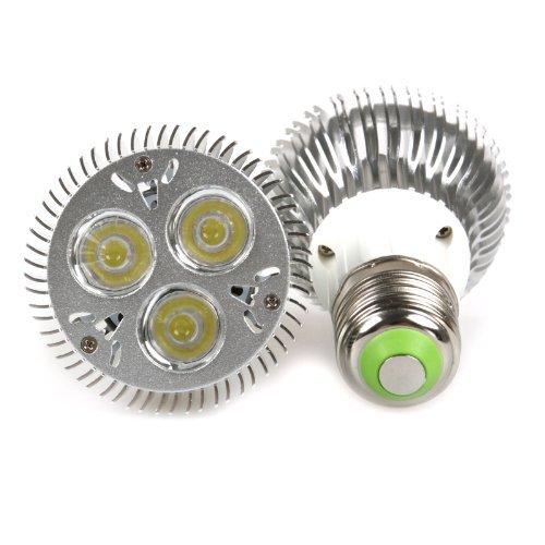 Lemonbest® Energy Saving 110V 9W PAR20 LED Bulb Spotlight Flood E27 Base Cool White 6000K (2 pack)