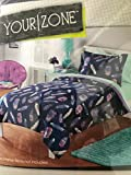 Best Feathers - Your Zone 2-Piece Comforter & Sham Set. Blue Review