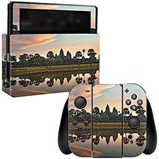 MightySkins Skin Compatible with Nintendo Switch - Scenic Reflection | Protective, Durable, and Unique Vinyl Decal wrap Cover | Easy to Apply, Remove, and Change Styles | Made in The USA