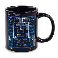 Taza de café de cerámica que cambia de calor Pac-Man