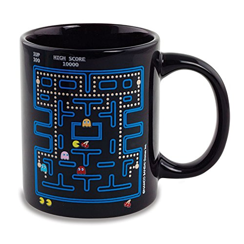 Pac-Man Heat Changing Ceramic Coffee Mug ()