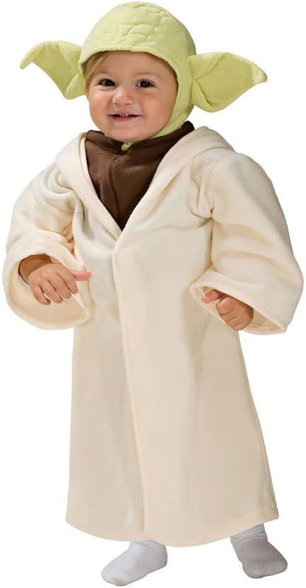 Disfraz Maestro Yoda™ para niño - De 0 a 6 meses: Amazon.es ...