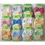 Bumgenius Elemental Organic 6 Pack Mixed Colors Cloth Diapers One Size Fits All