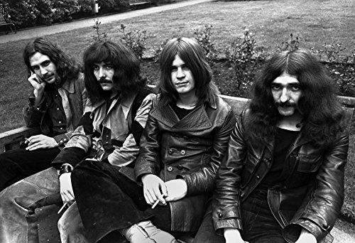 Black Sabbath Poster Black And White Quality Print Ozzy