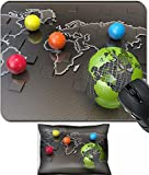 MSD Mouse Wrist Rest and Small Mousepad Set, 2pc Wrist Support design 19328402 Global business network