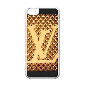 Exquisite stylish Louis with Vuitton phone protection shell iPhone 5C Cell phone case for LV Logo pattern personality design