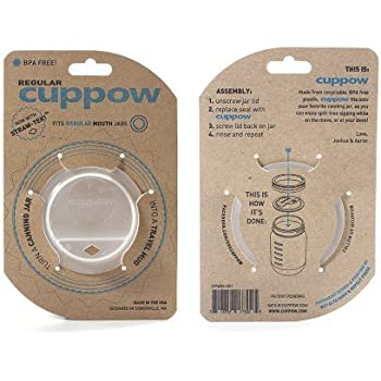 (1) Cuppow Regular White/Clear Cuppow Regular White/Clear