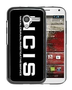Popular Design Motorola Moto X Case Of Ncis logo 1 Black Customized Photo Design Motorola Moto X Phone Case