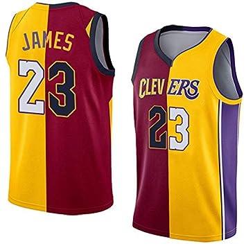 b5e3b6c7 SansFin Lebron James, Maillot de Basket-Ball, Maillots de Cavaliers et de  Lakers