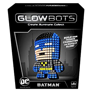 Goliath DC Glowbot Batman, Multicolor