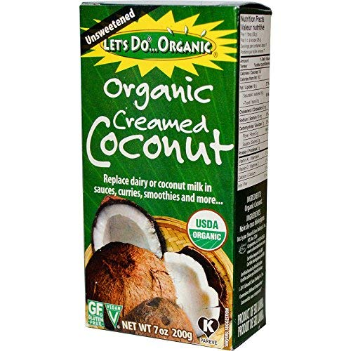 - Edward & Sons, Organic Creamed Coconut, 7 oz (200 g) Edward & Sons, Organic Creamed Coconut, 7 oz (200 g) - 2pcs