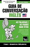 capa de Guia de Conversação Portuguès-Inglès E Dicionário Conciso 1500 Palavras